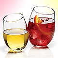 Luminarc 8-piece Crystal Stemless Wine Glass Set