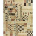 Nourison Hand-tufted Kalahari Multicolor Wool Rug (3'9 x 5'9)