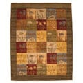 Hand-tufted Wool Ghati Rug (8' x 10')