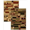 Admire Home Living Sorina Abstract Area Rug (7'9 x 9'6)