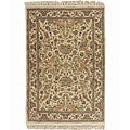 Machine-made Smithsonian Museum Wool Rug (9'6 x 13'6)