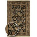 Hand-Knotted Legacy Collection Wool Area Rug (5'6 x 8'6)