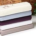 Supima Cotton 600 Thread Count Stripe 3-piece Duvet Cover Set