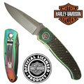 Titanium Elite Legend Knife by Harley Davidson