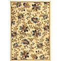 Safavieh Hand-hooked Garden Ivory Wool Rug (8'9 x 11'9) - 8'9 X 11'9