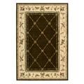 Nourison Hand-tufted Arden Manor Khaki Rug (8' x 10'6)