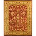 Safavieh Handmade Antiquities Mahal Rust/ Beige Wool Rug - 8'3 x 11'