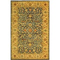 Safavieh Handmade Antiquities Mahal Blue/ Beige Wool Rug - 4' x 6'