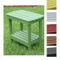 Two Tier Indoor/ Outdoor Wood Side Table