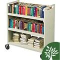 Balt Double-sided Book Cart