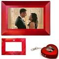Nextar 7-inch Digital Photo Frame w/ Digital Keychain