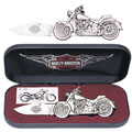 Harley-Davidson Fat Boy Motorcycle Knife