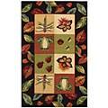 "Safavieh Hand-hooked Backyard Multicolor Wool Rug - 1'8"" x 2'6"""