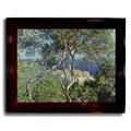 Monet Framed Canvas Impressionism Art - Multi