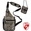 Heys USA Exotic Leopard TravelMate Sling Bag