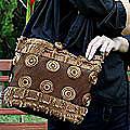 Cotton 'Moonlight' Shoulder Bag (Thailand)