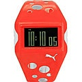 Puma Flow Men's LCD Red and White Watch