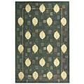 Safavieh Handmade Foliage Blue Wool Rug - 3'9 x 5'9