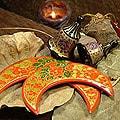 Set of 4 'Joyful Celebration' Ornaments (India)