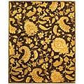 Safavieh Handmade Classic Paisley Brown Wool Rug (8'3 x 11')