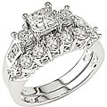 14k White Gold 1 4/5ct TDW Diamond Bridal Ring Set (HI, I1-I2)