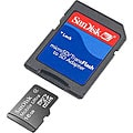 SanDisk 16G Micro SDHC2 MicroSD Card with Adapter (Class 4)