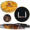 Gentlemen's Elk Ridge SS Pocket Knife with Tin Box