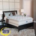 Serta Bristol Way Euro-top California King-size Mattress and Box Spring Set