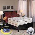 Serta Alleene Plush California King-size Mattress and Box Spring Set