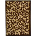 Safavieh Mayaguana Brown/ Natural Indoor/ Outdoor Rug (2'7 x 5') - 2'7 x 5'