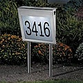 Stainless Steel Solar-powered House Number Light