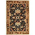 Safavieh Handmade Rodeo Drive Graphite/ Camel New Zealand Wool Rug (5' x 8')