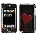 Apple iPod Touch 2G Carbon Fiber Heart Hard Case
