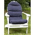 Adirondack Outdoor Blue Chair Cushion