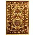 Safavieh Handmade Classic Jaipur Gold Wool Rug - 7'6 x 9'6