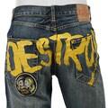 Ed Hardy Men's 'Destroy' Denim Jeans