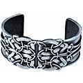 Pewter Celtic Shield Cuff Bracelet