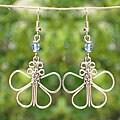 Butterfly Electroplated Earrings (Kenya)