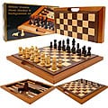 Checkers/ Chess/ Backgammon Game Set