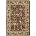 Hand-knotted Legacy New Zealand Wool Area Rug (8' x 10') - 8' x 10'