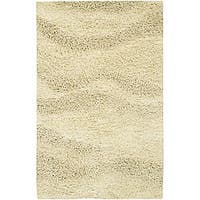 Hand-woven Tigris New Zealand Wool Area Rug (4' x 10') - 4' x 10'