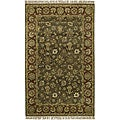Hand-knotted New Zealand Wool Area Rug (5' x 8') - 5' x 8'