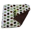 Sweet Ruby 13x13-inch Binky Blanket in Mint Chocolate Chip