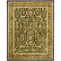 Safavieh Handmade Classic Light Green/ Gold Wool Rug - 9'6 x 13'6