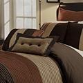Regatta Pintuck Chocolate 8-piece Comforter Set