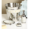 Mother of Pearl 4-piece Bath Accessory Set
