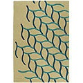 Safavieh Handmade Soho Beige New Zealand Wool Rug - 5' X 8'