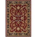 LNR Home Adana Red/ Black Oriental Rug (1'9 x 2'10)