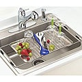 Happy Housewares Stainless Steel Adjustable Over-the-sink Drying Tray