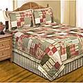 Sadie's Square Cotton Patchwork Quilt